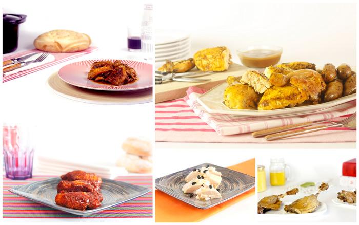 Aves. Diez recetas para cocinar en Crock Pot