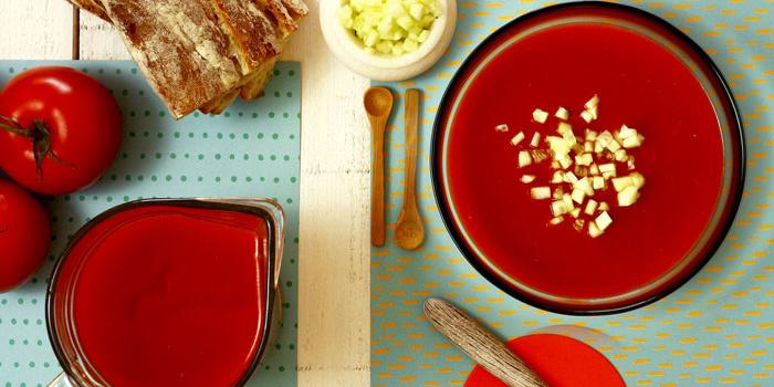 Gazpacho asado en Crock Pot