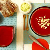 Gazpacho asado. Receta para Crock Pot