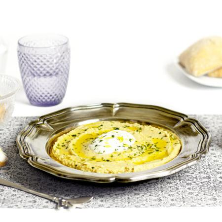 Hummus. Receta para Crock Pot