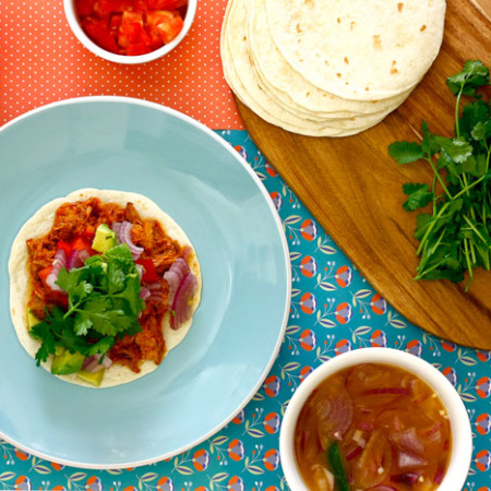 Cochinita pibil. Recetas de cenas para crock pot