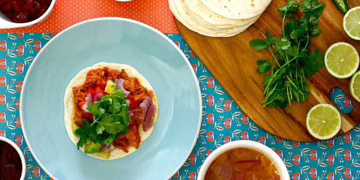 Cochinita pibil en crock pot