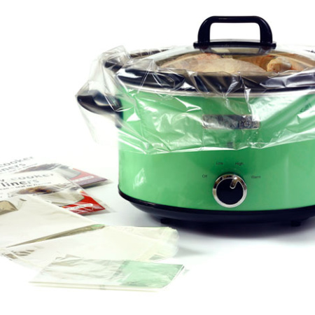 Uso de liners y bolsas de asar en crock pot