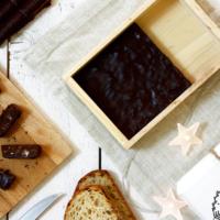 Turrón de pan con chocolate. Receta para Crock Pot