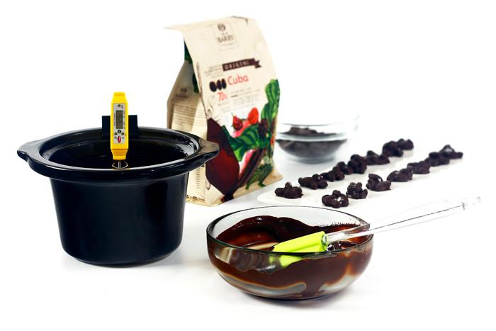 Cómo atemperar chocolate en crock pot