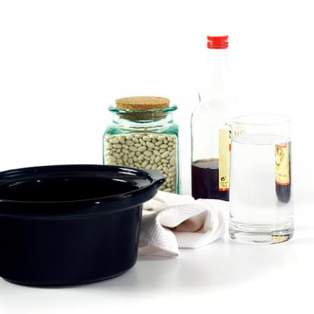 Cómo limpiar las manchas blancas de tu slow cooker