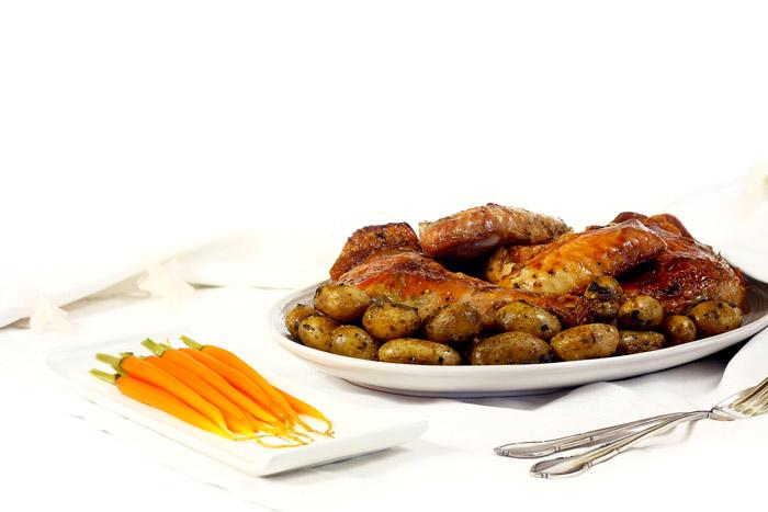 Pavo asado low cost. Receta para crock pot