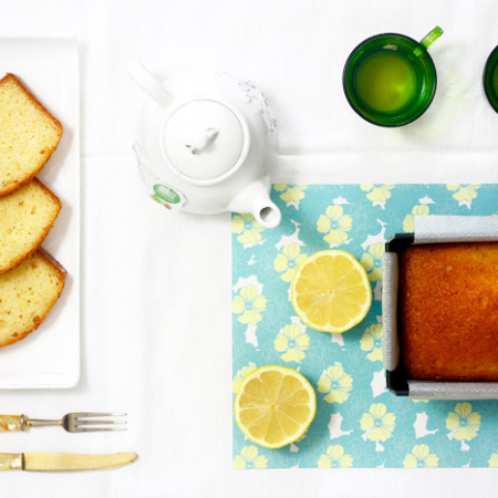 Bizcocho de limón. Receta para crock pot