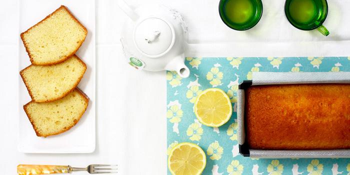 Bizcocho de limón en crock pot
