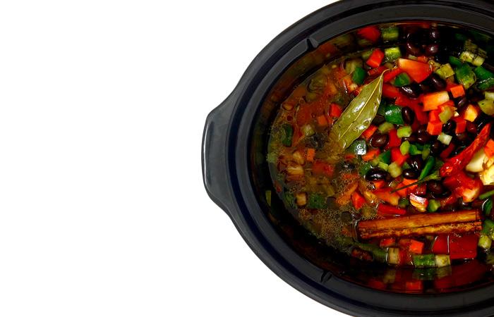 Chili sin carne. Receta para crock pot