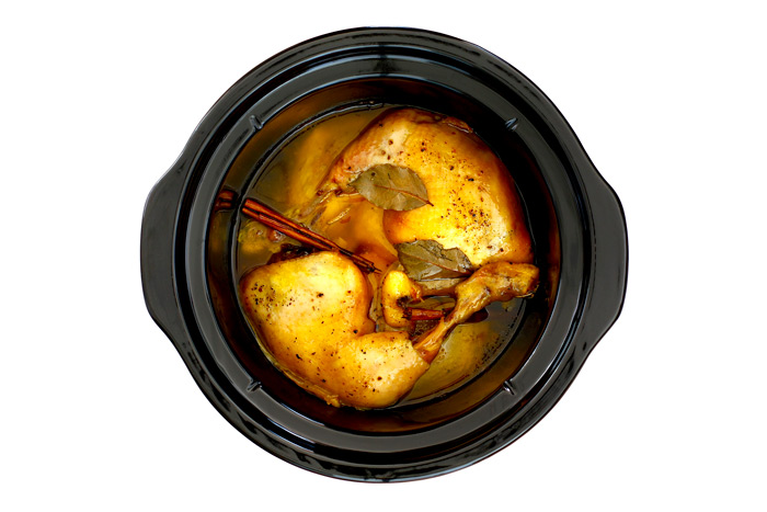 Coronation chicken. Receta para crock pot