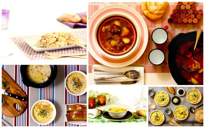 Patatas. Diez recetas para crock pot o slow cooker II