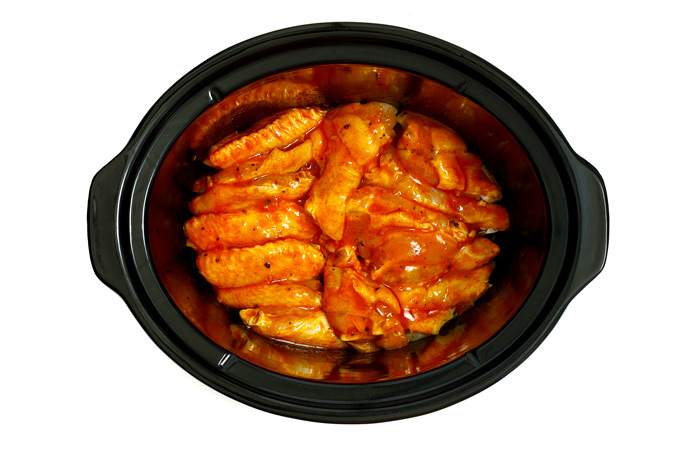 Buffalo wings. Receta para crock pot
