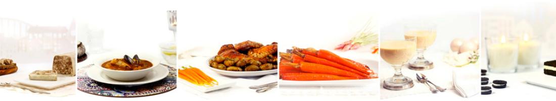 Cinco menús de Navidad