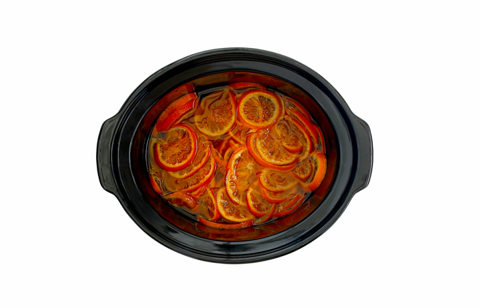 Mandarinas confitadas. Receta para crock pot o slow cooker