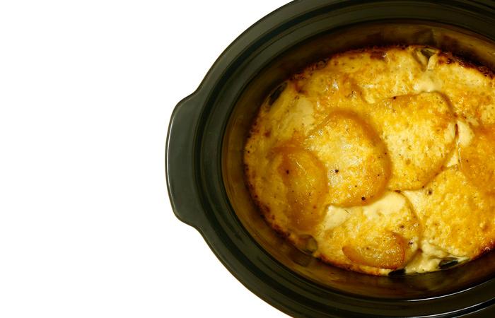 Patatas a la crema. Receta para crock pot o slow cooker