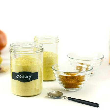Salsa al curry. Receta para crock pot o slow cooker