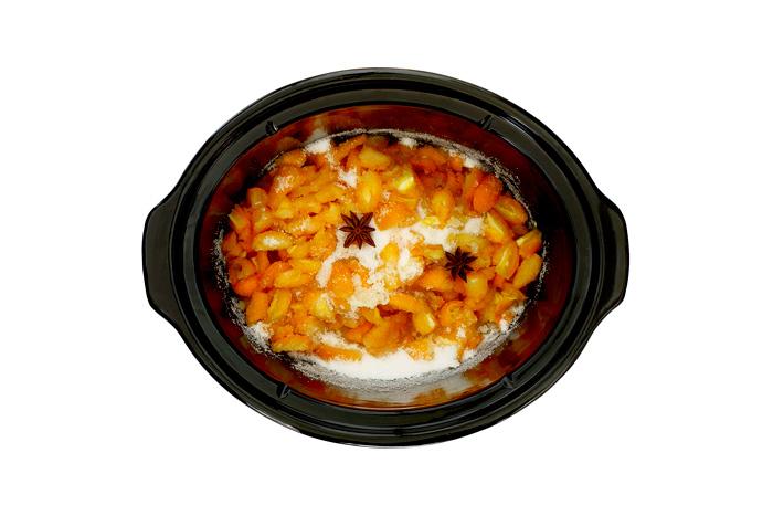 Mermelada de kumquats y anís. Receta para crock pot