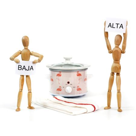 ALTA y BAJA. Cuándo cocinar en cada función