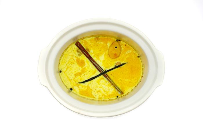 Golden milk. Receta para crock pot o slow cooker