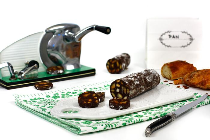 Salchichón de chocolate. Receta para crock pot o slow cooker
