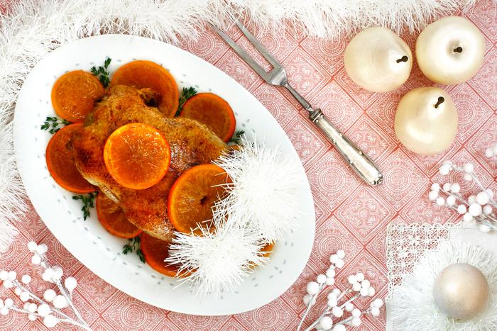 Pato a la naranja. Receta para crock pot o slow cooker
