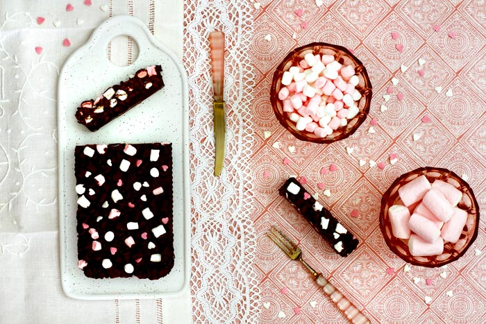 Turrón de marshmallows. Receta para crock pot o slow cooker