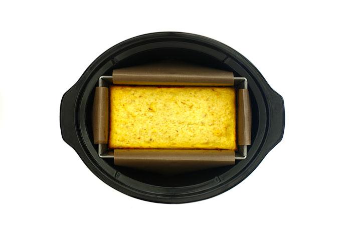 Pastel de dorada y vieiras. Receta para crock pot o slow cooker