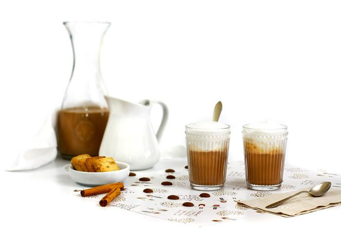 Chocolate caliente a la canela. receta para crock pot o slow cooker