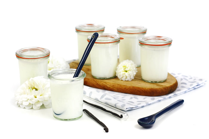 Yogur de vainilla. Receta para crock pot o slow cooker