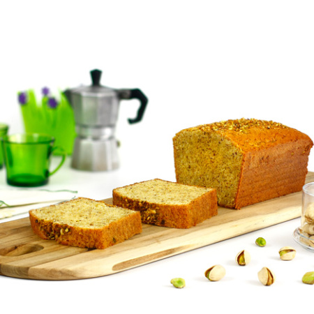 Bizcocho de pistachos. receta para crock pot o slow cooker