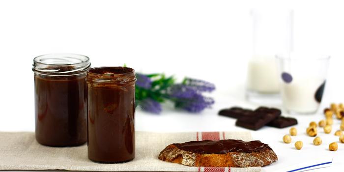 Crema de chocolate y avellanas