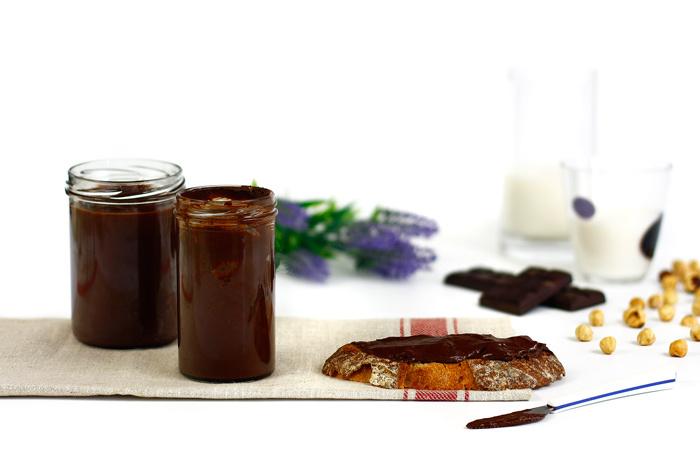 Crema de chocolate y avellanas en crock pot o slow cooker