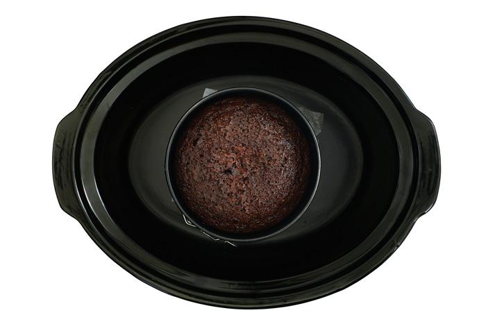 Tarta selva negra. Receta para crock pot o slow cooker
