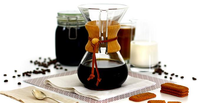 Cold brew coffee (ligeramente hot)