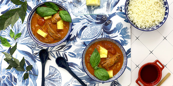 Curry thaï de pato