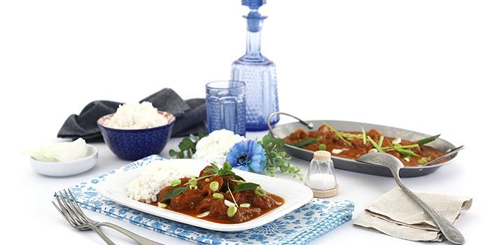 Curry rojo de cordero