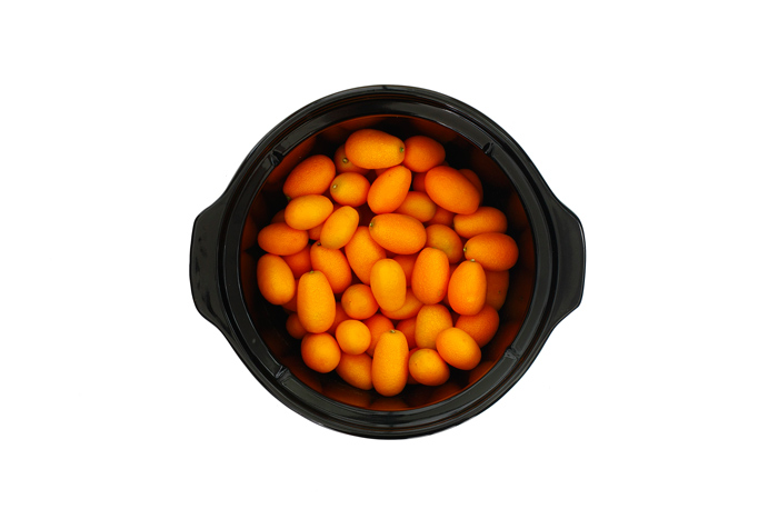 Kumquats confitados. Receta para crock pot o slow cooker