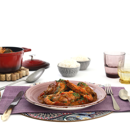 Gumbo de pollo y marisco | Receta para slow cooker