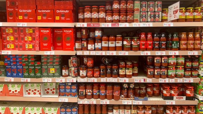 Tomate frito, salsa de tomate y tomate triturado. Diferencias y aplicaciones